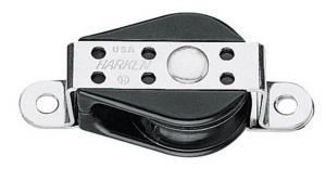 Harken Bulletblok 29 mm enkelt, skildpadde