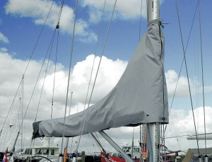Blue Performance Sail cover 2