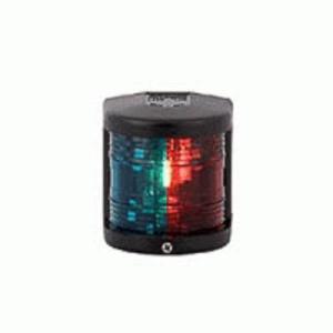 Aquasignal 25 2farvet stb/bb Sort 12V