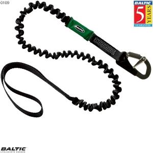 Livline 1 krog + loop elastisk Sort BALTIC 0109