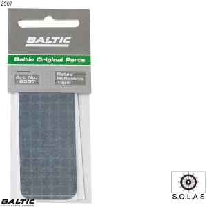 Reflekskit 2 stk. Silver BALTIC 2507
