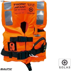 SOLAS 2010 Infant Std 0-15 Orange BALTIC 1035