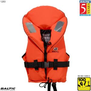 Skipper rednings vest-Orange-Baby--50 cm. bryst