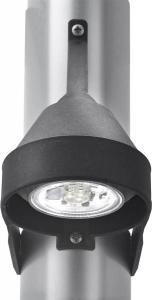 Aquasignal Dækslys mast Sort LED