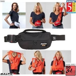 iFloat 50N Softbag manuel Sort BALTIC 5990
