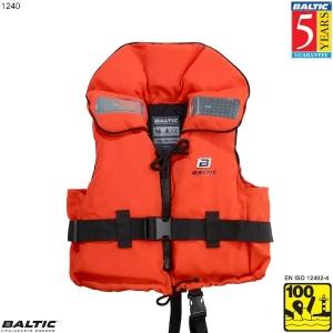 Original Børne rednings vest Orange BALTIC 1240