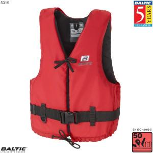 Aqua Svømmevest-Rød-Small-58-87 cm. bryst