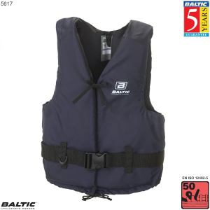 Aqua Svømmevest-Navy-Small-58-78 cm. bryst
