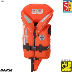 99 redningsvest-Orange-Baby--50 cm. bryst