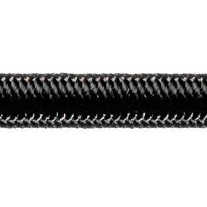 Robline high-tech elastik snor 3 mm sort