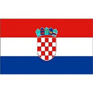 Flag Kroatien 30x45 cm.