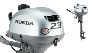 Honda 2,3 hk. m. kort ben luftkølet