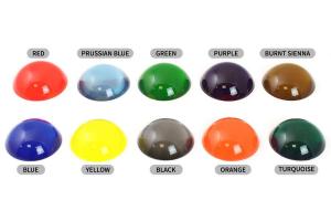 Transparent farve-kit til epoxy 10 farver.