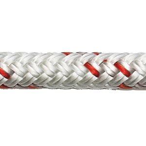 Robline orion 500 trimline 2 mm hvid/rød