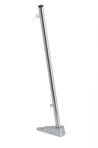 Flagstang 13mm. 50cm. rustfri u./fod