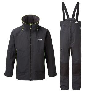 Gill OS32 Coastal Sæt, Herre - Grafit jakke