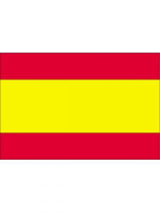 Flag Spanien 30x46cm.