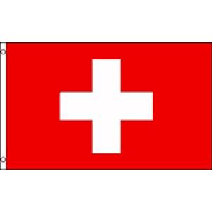 Flag Schweiz 30x45 cm.