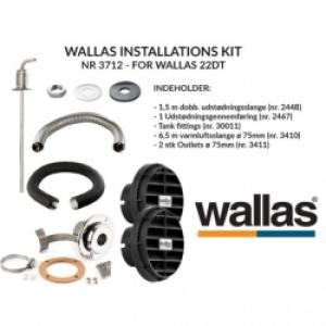wallasinstallationssæt til dt22