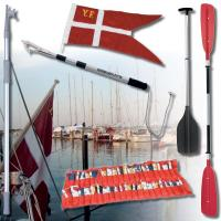 Flag, Årer & Bådshager